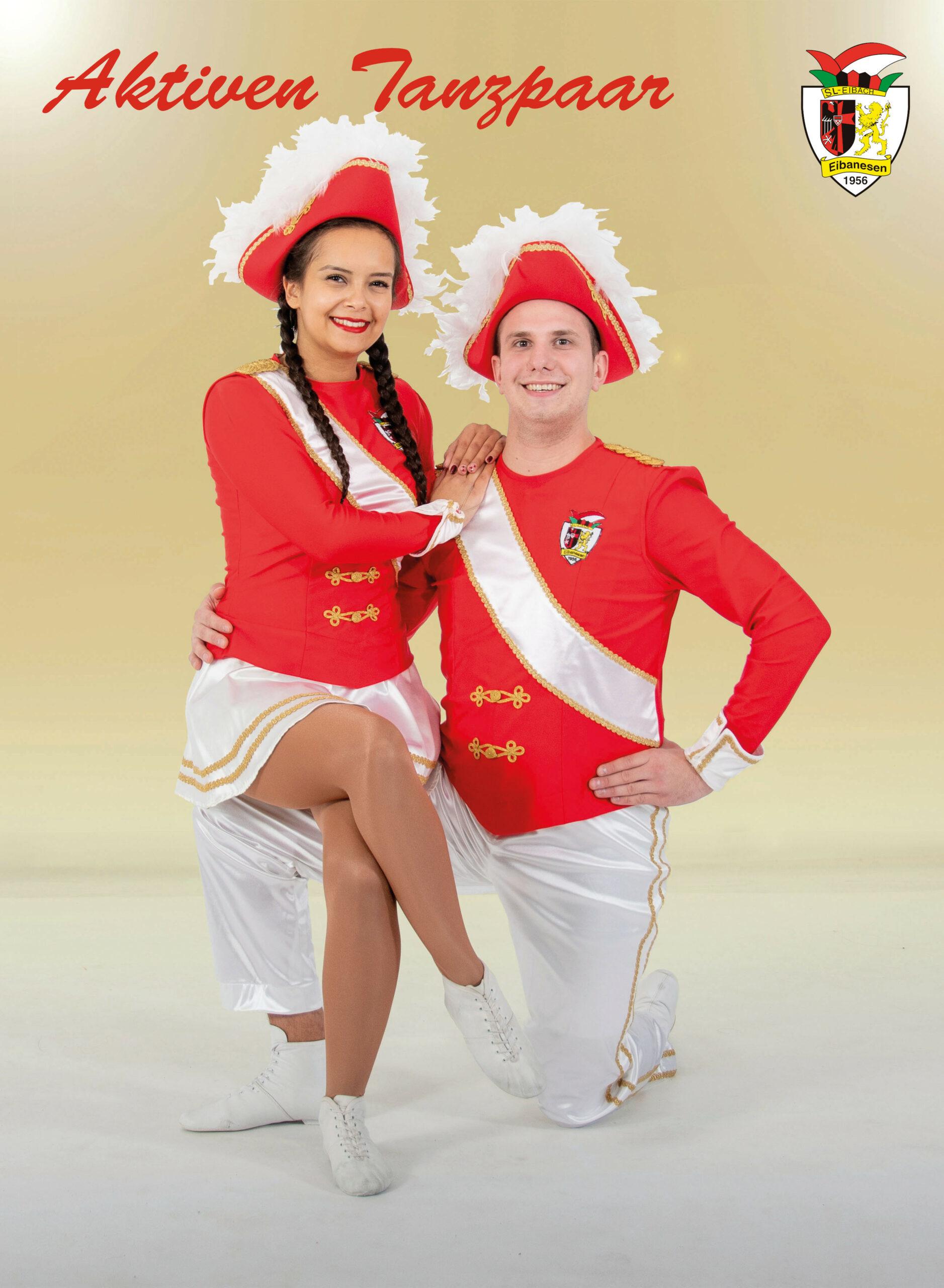 Aktiven-Tanzpaar